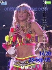 Capture d'écran Shakira waka waka thème