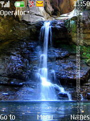 Waterfall tema screenshot