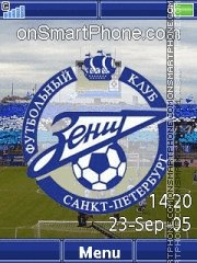 FC Zenit Yari theme screenshot