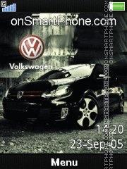 Volkswagen 02 theme screenshot
