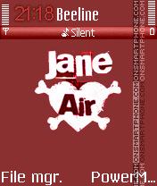 Capture d'écran Jane Air 01 thème