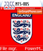 England theme screenshot