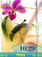 Summer drinks tema screenshot
