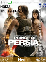 Prince Of Persia 2025 theme screenshot