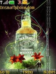 Jack Daniels 05 theme screenshot