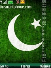 Pakistan Flag es el tema de pantalla