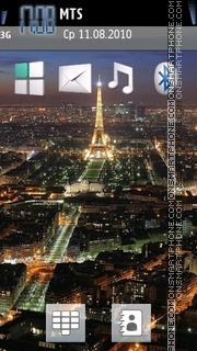Скриншот темы Nature Paris