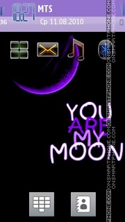 You Are My Moon es el tema de pantalla