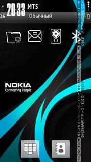 Blue Nokia es el tema de pantalla
