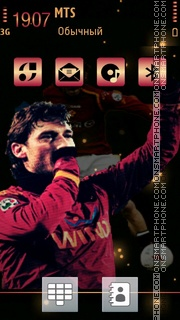 Totti 02 tema screenshot