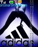 Adidas theme screenshot