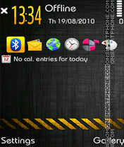 D4NGeR! theme screenshot