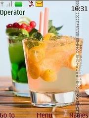 Capture d'écran Cocktails thème