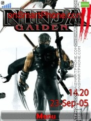 Ninja Gaiden 2 02 theme screenshot