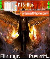 Dark Angel 02 es el tema de pantalla
