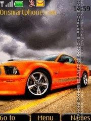 Mustang Drift theme screenshot