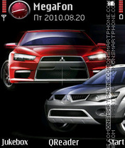 Mitsubishi Theme-Screenshot