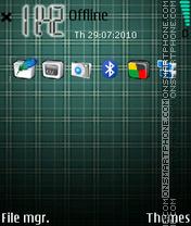 Iphone 3d Vertical theme screenshot