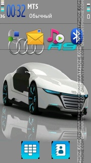 Audi R9 theme screenshot