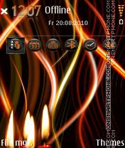 Candles 06 theme screenshot