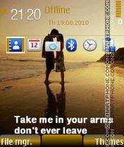 Скриншот темы Dont leave 01