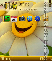 Smile 10 tema screenshot