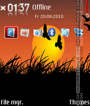 Sunshine DI theme screenshot