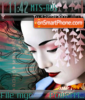 Geisha es el tema de pantalla