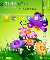 Butterfly 19 tema screenshot
