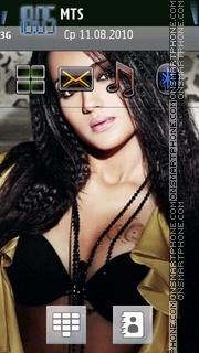 Trisha Hot 01 theme screenshot