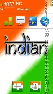Скриншот темы Indian 03
