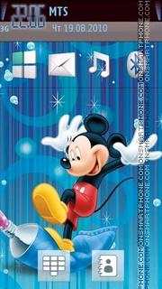 Micky Mouse es el tema de pantalla