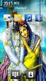 Lord Krishna 04 theme screenshot
