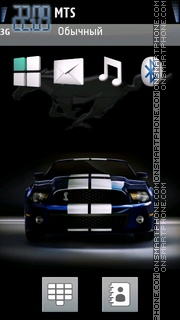 Скриншот темы Mustang 21