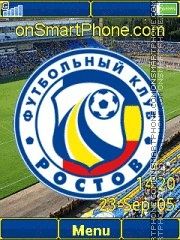 FC Rostov C902 es el tema de pantalla