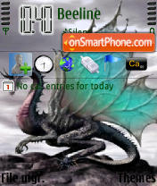 Dragon 3bepb theme screenshot