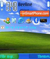 WinXP theme screenshot