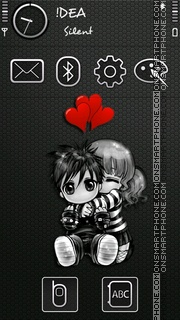 Romantic v5 theme screenshot