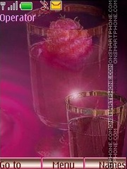 Wine from a raspberry theme screenshot
