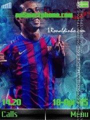 Ronaldo tema screenshot