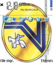 Chievo Verona theme screenshot