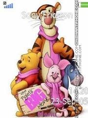 Winnie-the-Pooh es el tema de pantalla