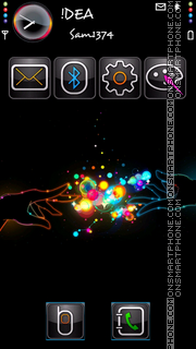 Magical Touch v5 theme screenshot