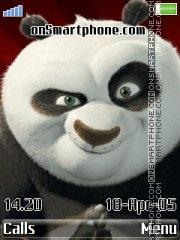 Kung Fu Panda tema screenshot