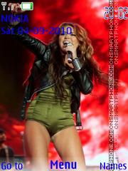 Miley Cyrus tema screenshot