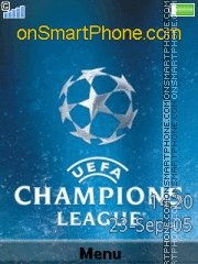 UEFA Champions League tema screenshot