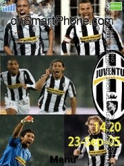 Juventus tema screenshot