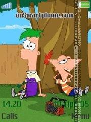 phineas and ferb es el tema de pantalla