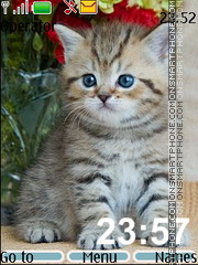 Скриншот темы British_kittens
