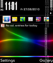 PureColor theme screenshot